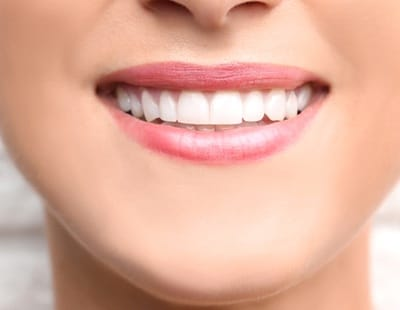person with a complete, healthy smile
